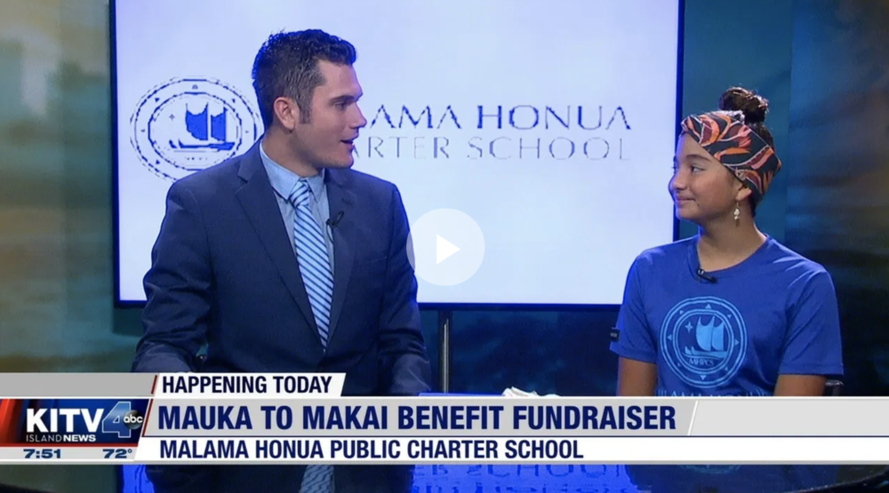 KITV4 Morning Show highlighting Mauka to Makai 2020