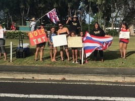 Mālama Honua Peaceful Civic Action