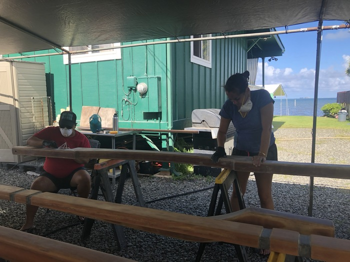 Dry Dock Caring for Waʻa